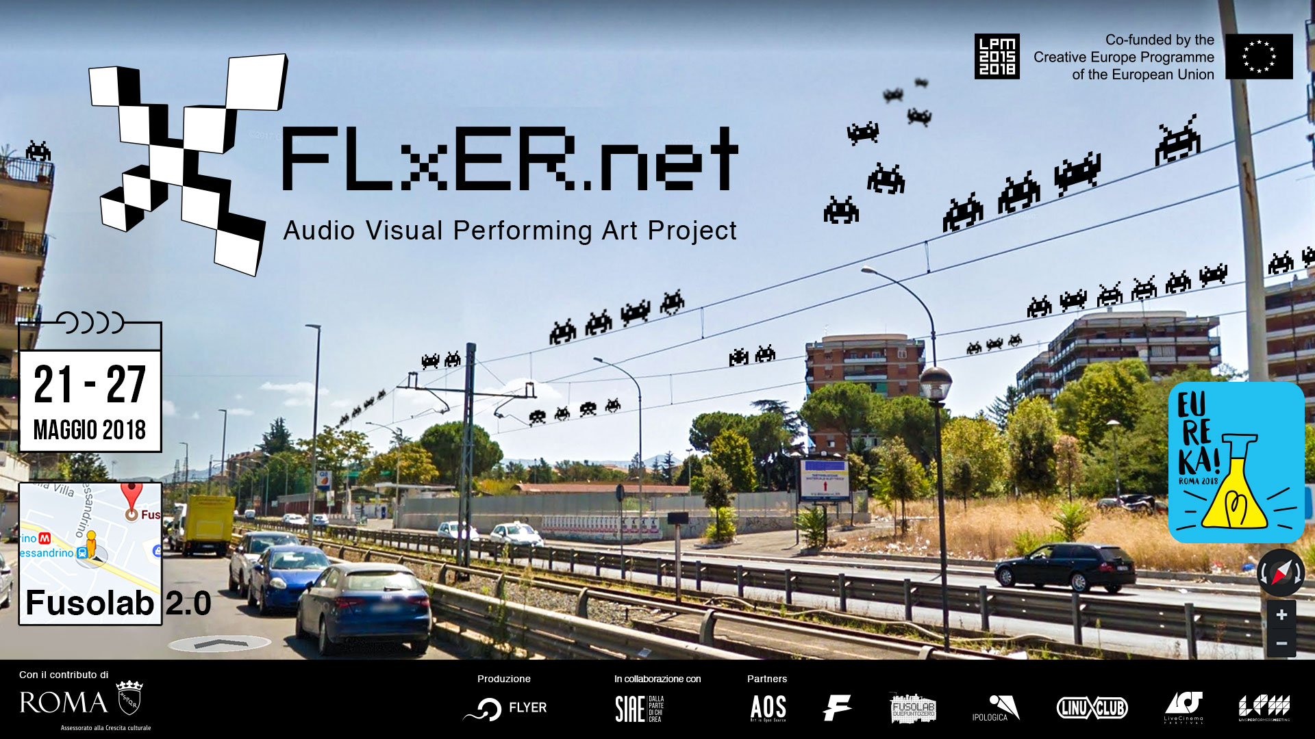 (English) FLxER Audio Visual Performing Art Project | LPM 2015 > 2018