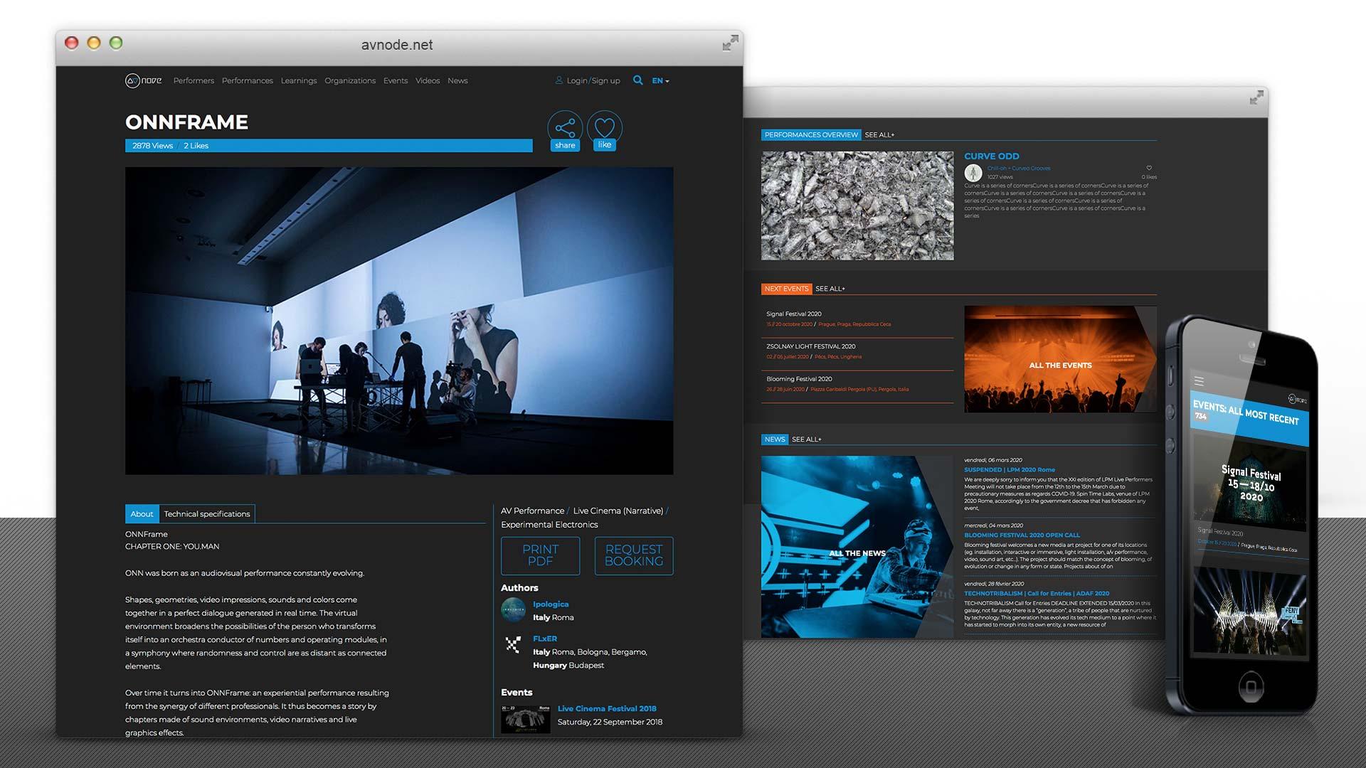 AVnode.net Phase 1