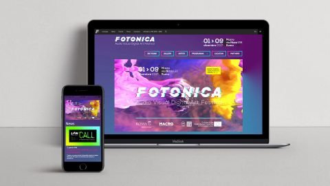 Image for: Fotonica Festival 2017 – Web Site