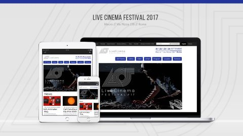Image for: Live Cinema Festival 2017 – Web Site