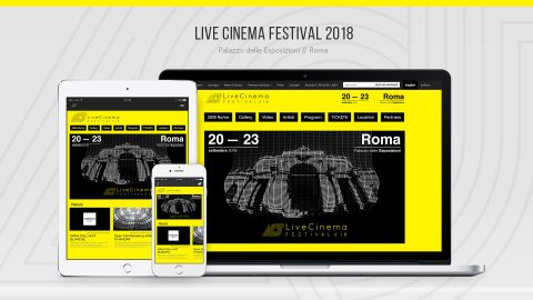 Image for: Live Cinema Festival 2018 – Web Site