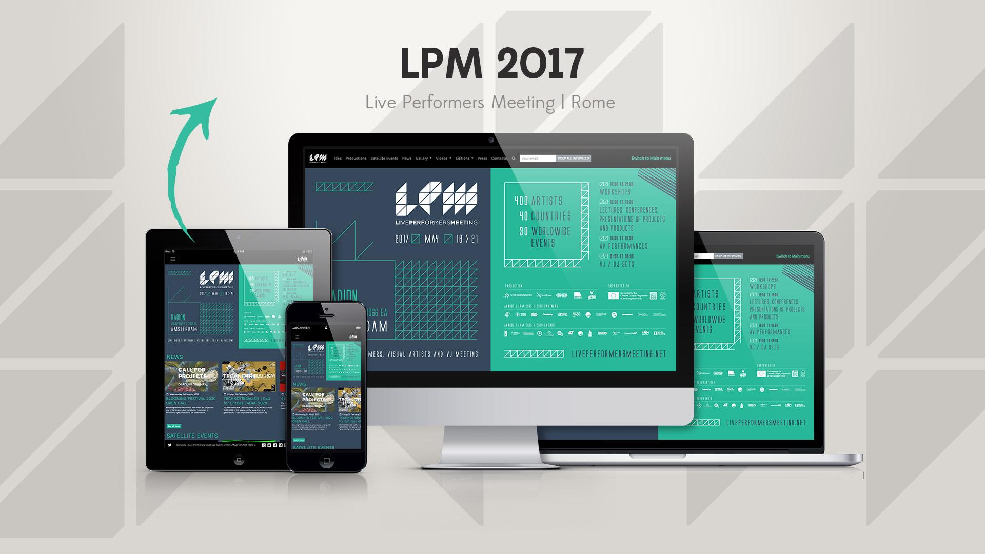 LPM 2017 Amsterdam – Web Site