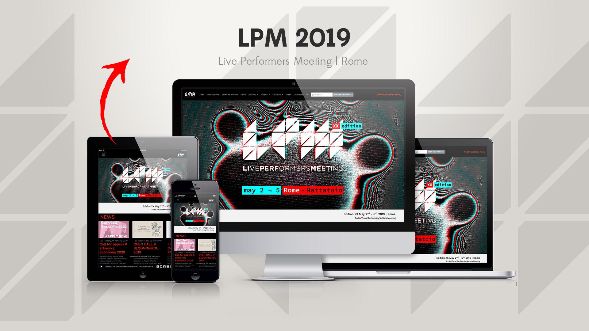 LPM 2019 Rome – Web Site