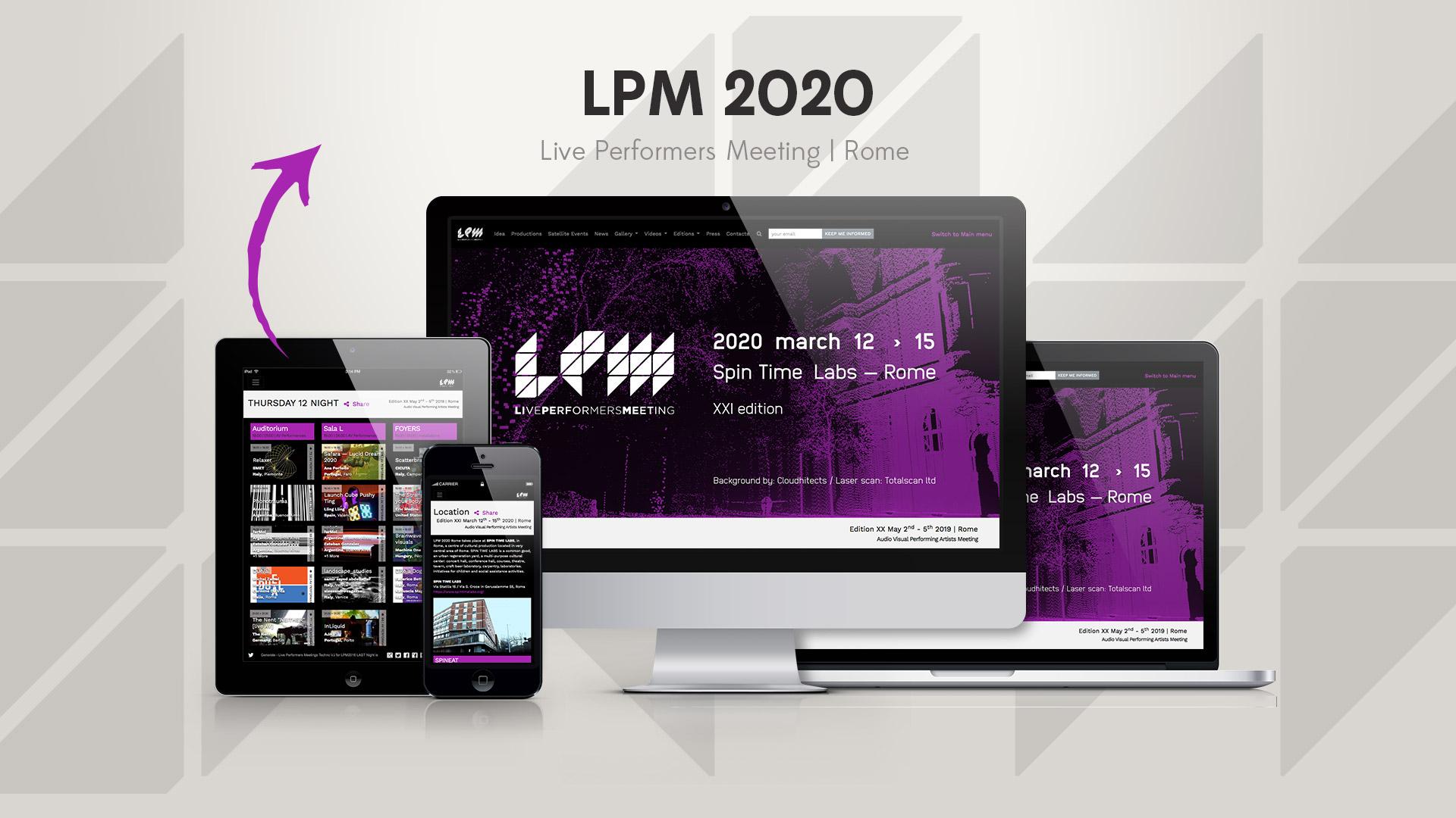 LPM 2020 Rome – Web Site
